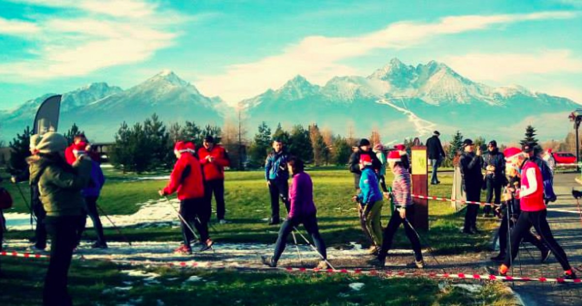 Slovak Nordic Walking Tour 2015
