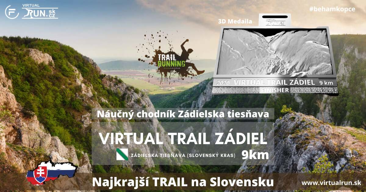 Virtual Trail Zádiel 2020